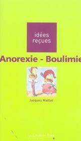 Anorexie-boulimie - Intérieur - Format classique