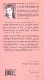 Les Gens De Hellemyr T.3 ; Severin - 4ème de couverture - Format classique