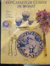 Les Carnets De Cuisine De Monet - Couverture - Format classique
