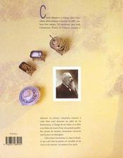 Les Carnets De Cuisine De Monet - 4ème de couverture - Format classique