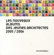 Nouveaux albums des jeunes architectes - Intérieur - Format classique