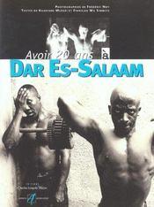 Avoir 20 Ans A Dar Es-Salam - Intérieur - Format classique