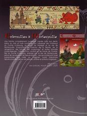 Embrouilles à Mortecouille t.2 ; l'apprentie sorcière - 4ème de couverture - Format classique