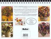 L'art de la composition florale - 4ème de couverture - Format classique