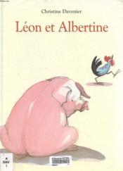 Léon et Albertine - Couverture - Format classique