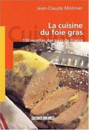 Aed la cuisine du foie gras - Couverture - Format classique