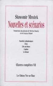 Oeuvres Completes 7, Nouvelles Et Scenarios - Couverture - Format classique