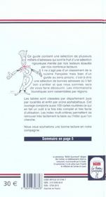 Le Bottin Gourmand 2004 - 4ème de couverture - Format classique