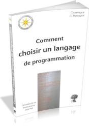 Comment choisir un langage de programmation - Couverture - Format classique