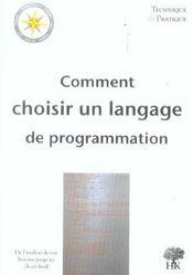 Comment choisir un langage de programmation - Intérieur - Format classique