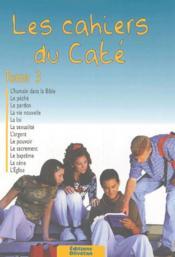 Les Cahiers Du Cate Tome 3 - Couverture - Format classique