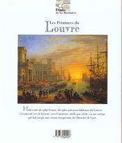 Les Peintures Du Louvre - 4ème de couverture - Format classique