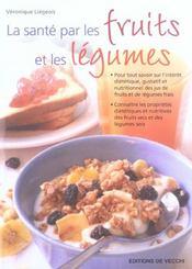 Sante Par Les Fruits Et Les Legumes - Intérieur - Format classique