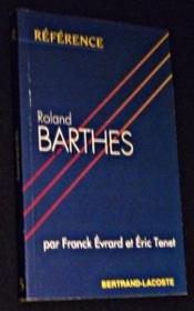 Roland barthes-collection reference - Couverture - Format classique
