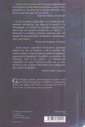Le Livre D'Un Homme Seul - 4ème de couverture - Format classique