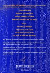 Applications d'économie générale pour BTS 2ème année - 4ème de couverture - Format classique