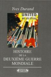 Histoire de la deuxième guerre mondiale - Couverture - Format classique