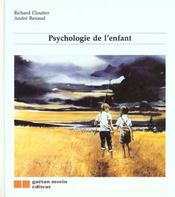 Psychologie Enfant - Intérieur - Format classique