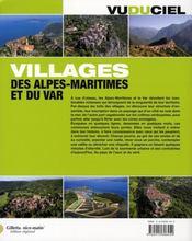 Villages des Alpes-Maritime et du Var - 4ème de couverture - Format classique