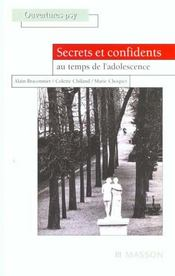 Secrets Et Confidents  - Alain Braconnier