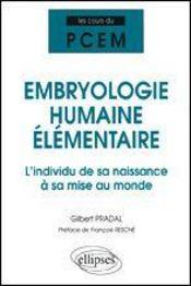Embryologie Humaine Elementaire L'Individu De Sa Naissance A Sa Mise Au Monde - Intérieur - Format classique