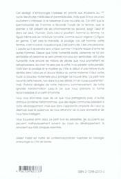 Embryologie Humaine Elementaire L'Individu De Sa Naissance A Sa Mise Au Monde - 4ème de couverture - Format classique