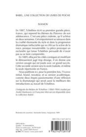 Ivanov Babel 436 - 4ème de couverture - Format classique