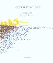 Histoire D'Un Livre - Couverture - Format classique