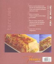 Terrines De Viandes Et Legumes - 4ème de couverture - Format classique