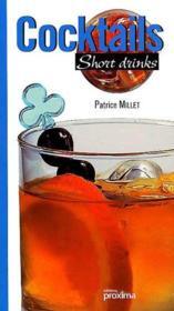 Cocktail short drinks - Couverture - Format classique