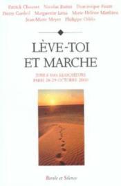 Leve Toi Et Marche - Couverture - Format classique