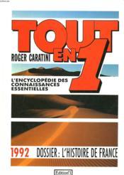 Tout En 1 1992 - Couverture - Format classique