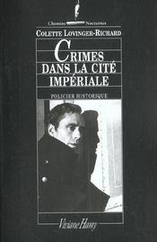 Crimes Dans La Cite Imperiale - Intérieur - Format classique