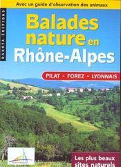 Balades Nature ; Forez, Pilat, Lyonnais - Intérieur - Format classique