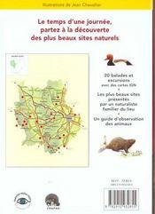 Balades Nature ; Forez, Pilat, Lyonnais - 4ème de couverture - Format classique