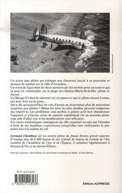 Vols d'essai - 4ème de couverture - Format classique