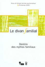 Revue Le Divan Familial T.4 - Intérieur - Format classique