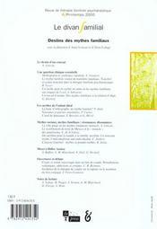Revue Le Divan Familial T.4 - 4ème de couverture - Format classique