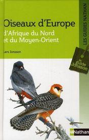 Les oiseaux d'Europe - Intérieur - Format classique