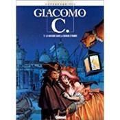 Giacomo C. t.1 ; le masque dans la bouche d'ombre - Couverture - Format classique