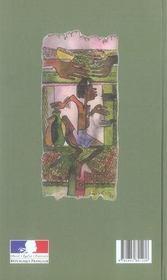 Proverbes rwandais - 4ème de couverture - Format classique