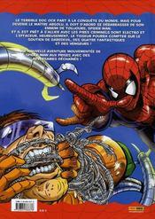 Spider-man, les aventures t.2 ; la menace du docteur Octopus - 4ème de couverture - Format classique