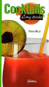 Cocktails long drinks - Couverture - Format classique