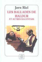 Les Ballades De Haldur Et Autres Racontars - Intérieur - Format classique