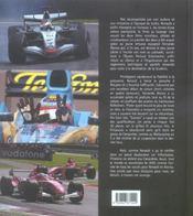 Formule 1 2005 - 4ème de couverture - Format classique