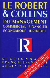 Le robert & collins du management ; 10e edition - Intérieur - Format classique