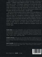 Les Orties Noires - Schwarzi Sengessle ; Un Requiem Alsacien - 4ème de couverture - Format classique