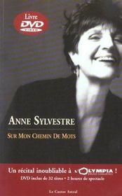 Anne sylvestre sur mon chemin de mots + dvd inedit - Intérieur - Format classique