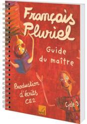 CE2 ; guide du maître - Couverture - Format classique