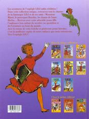 Lili t.8 ; Lili au zoo - 4ème de couverture - Format classique